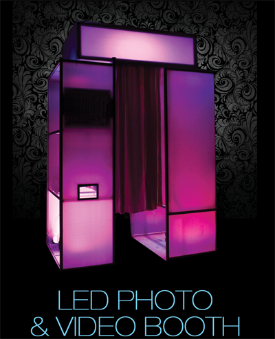 Led Photo Video Booth Xplosive Entertainment A Nj